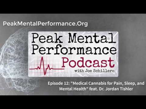"Episode 12: ""Medical Cannabis, Sleep, Pain, and Mental Health"" feat. Dr. Jordan Tishler"
