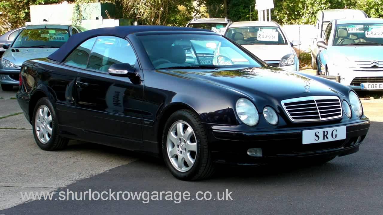 Mercedes clk 320 avantgarde convertible for sale youtube for Used mercedes benz clk convertibles for sale