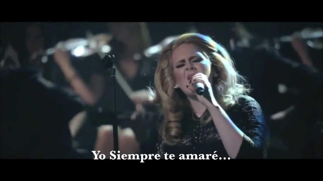 Adele Lovesong Subtitulos En Espanol