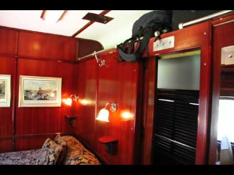 Rovos Suite Tour