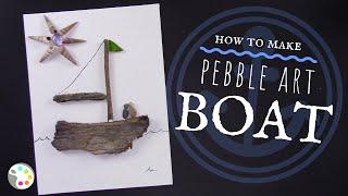 How To Make Pebble Art -- Art Lesson