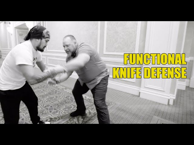 Knife Defense Drills Everyone Should be Know!