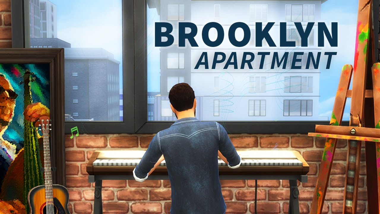 The sims 4 build brooklyn apartment let 39 s play build for Buy apartment brooklyn ny