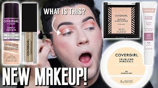 I TESTED NEW DRUGSTORE MAKEUP SO YOU WOULDNT HAVE TO! COVERGIRL EDITION