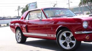 1965 Ford Mustang Shelby Tribute!