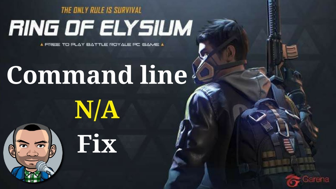 Ring of Elysium - How To Fix Command Line N/A Problem