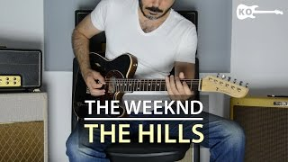 The Weeknd - The Hills - Electric Guitar Cover by Kfir Ochaion