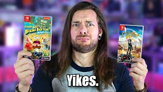 WHAT Happened to SpongeBob & Outer Worlds on Nintendo Switch?!