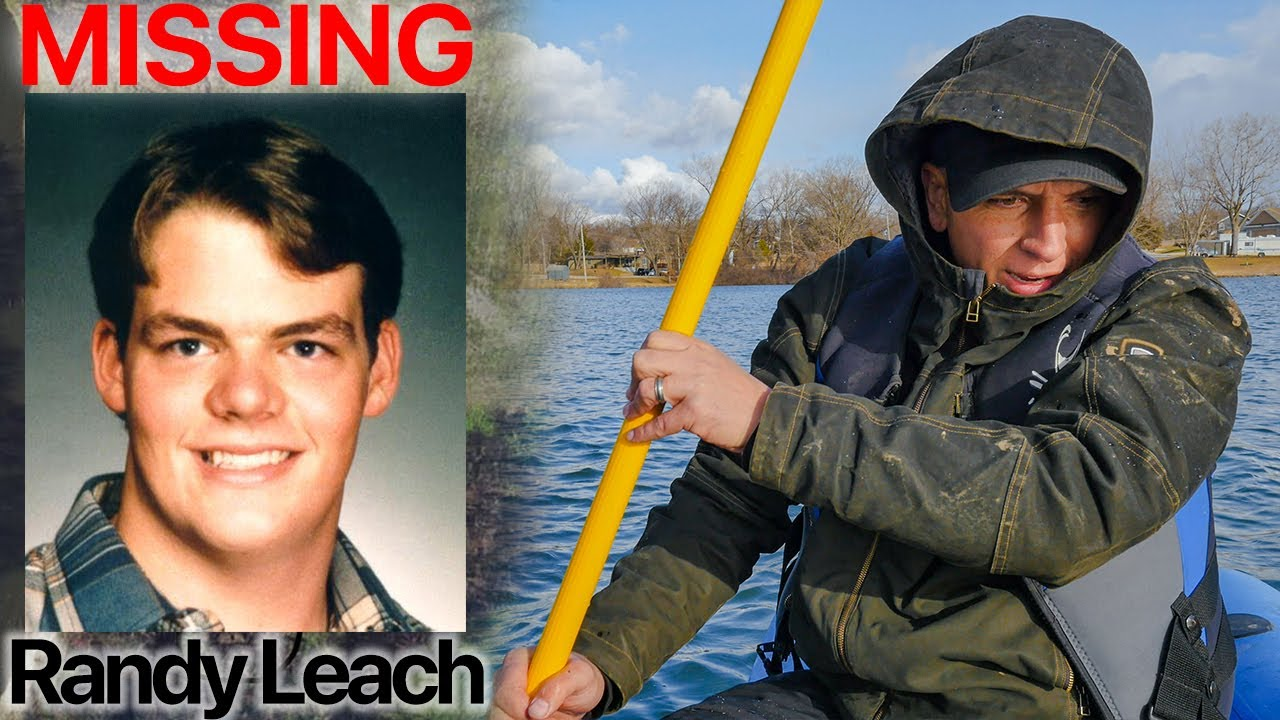 WHERE IS RANDY LEACH? (Part 3) TARGET LOCATED IN LAKE... (Missing Person Cold Case)