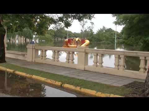 Concordia inundada otra vez: la situación de la Costanera