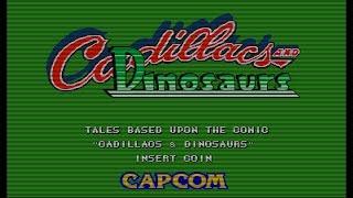 Jogos que marcaram historia # 3 cadilac dinossauros
