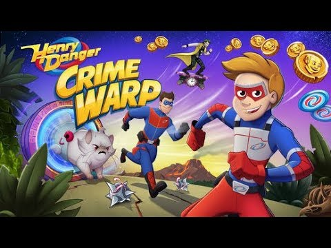 HENRY DANGER CRIME WARP Game (Nickelodeon / GameShakers) ios / Android Gameplay Walkthrough