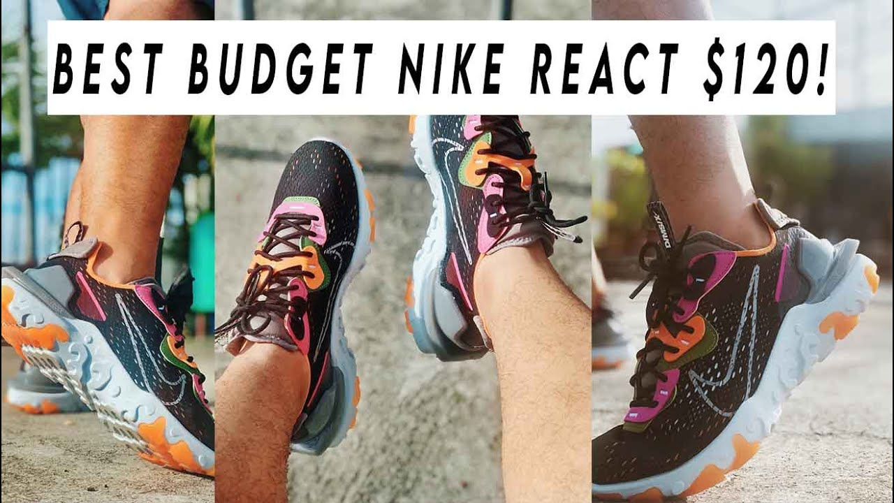 SHOULD YOU BUY NIKE REACT VISION THIS 2020? Review and On Feet