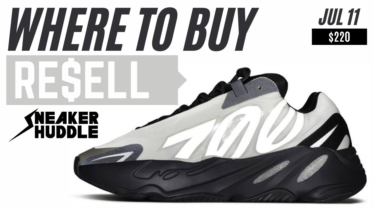 Adidas Yeezy Boost 700 MNVN Bone | Where To Buy + Resell Prediction
