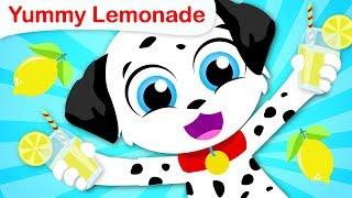3 Little Puppies | Yum Yum Lemonade | Nursery Rhymes and Fun Songs for Kids by Little Angel