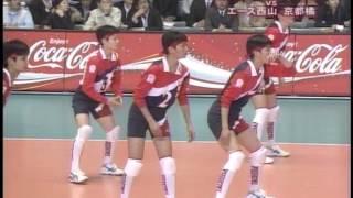 2006 03 26 第37回春高バレー女子決勝「東龍×京都橘」