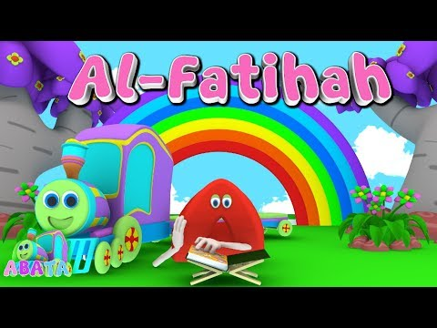 Animation 3d Juz Amma Al Fatihah Recite Quran With Battar Train Hijaiyah Abata Channel