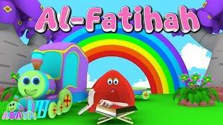 Animation 3D Juz Amma Al-Fatihah | Recite Quran with Battar Train Hijaiyah | ABATA Channel