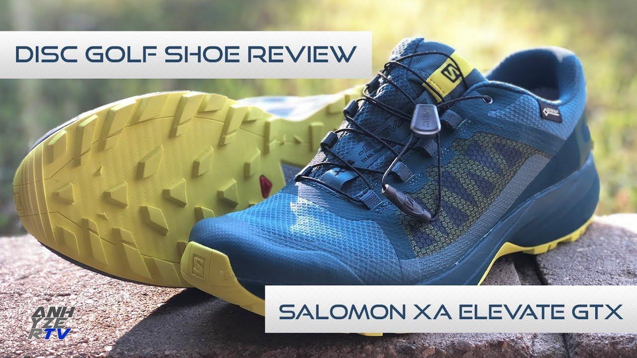 1cfc9daea650 Disc Golf Shoes - Salomon XA Elevate GTX Review - YouTube