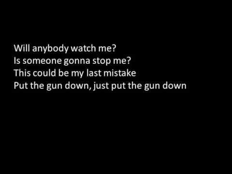 Put The Gun Down by Andy Black - Lyric video