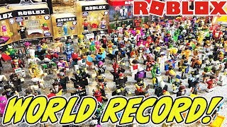 WORLD'S BIGGEST ROBLOX TOY COLLECTION!