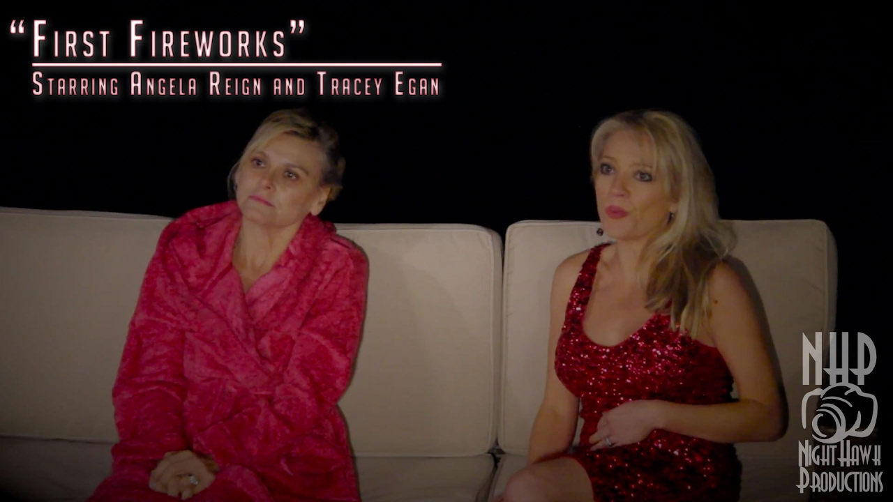 """Angela Is The Fireworks Woman """"first fireworks"""" - film reel for angela reign"""