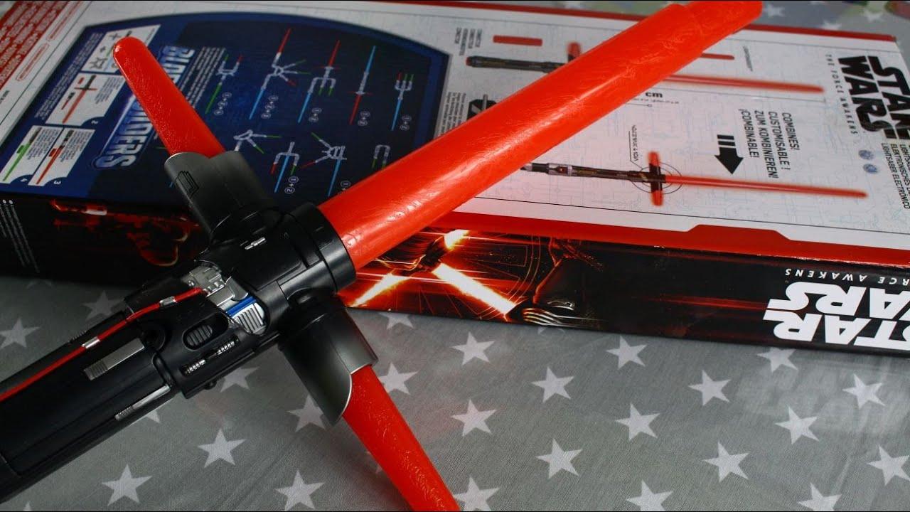 Световой меч-светильник кайло рена из серии star wars science станет отличным подарком для каждого поклонника киносаги