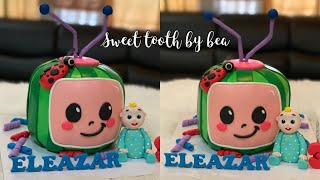 Cocomelon Cake tutorial (baby JJ) how to make it