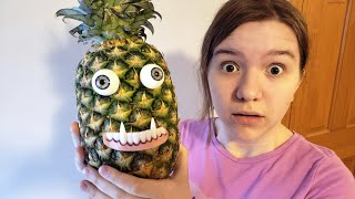 A PINEAPPLE ATE MY SISTER!