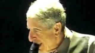 Hallelujah LIVE Leonard Cohen