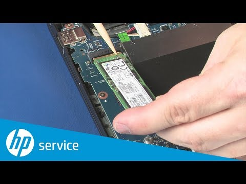 Replace the Solid State Drive | HP ENVY x360 15-bp000 | HP