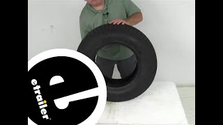 Taskmaster Tires and Wheels - Tire Only - TTWSF22515D Review - etrailer.com