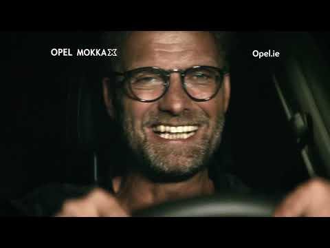 The Opel MOKKA X with Jurgen Klopp