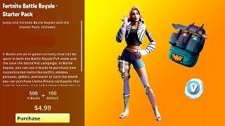 FORTNITE STARTER PACK 7 LEAKED!!! Wilde Pack! | Fortnite Starter Pack 7