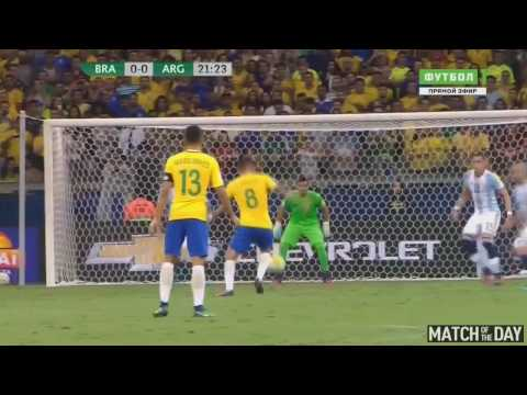 Hasil skor Brazil - Argentina 3-0 Kualifikasi Piala Dunia 2018 10-11-2016