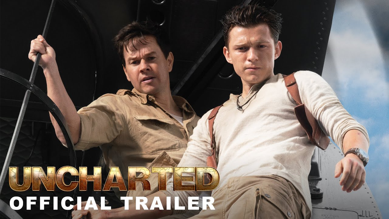 Download Uncharted - Official Trailer   In Cinemas February 18   English, Hindi, Tamil and Telugu