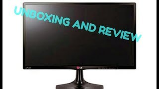 unboxing and review of 24 inch LG led tv.