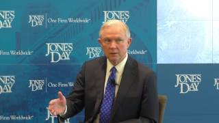 Senator Jeff Sessions Discusses Judicial Appointments Free HD Video