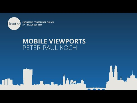 Peter-Paul Koch - Mobile Viewports