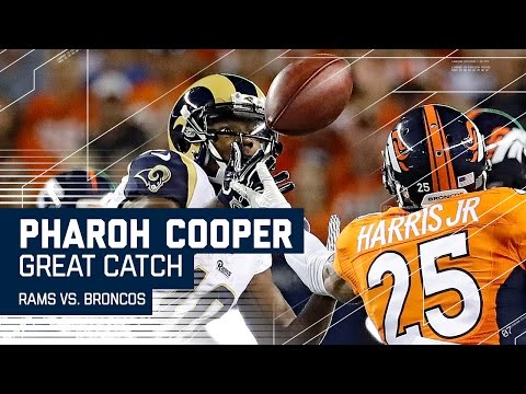 Jared Goff Fires to Pharoh Cooper, Makes a Ridiculous Catch! | Rams vs. Broncos (Preseason) | NFL