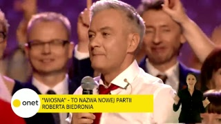 Konwencja Roberta Biedronia | OnetNews - Na żywo