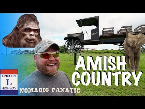 Amish, Elephants, Bigfoot, & Haunted Confederate HQ