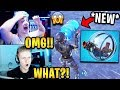 Streamers React to *NEW* Consume Animation + First Time Using 'The Baller'   Fortnite Highlights