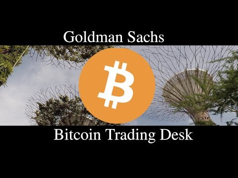 Goldman sachs cryptocurrency bubble