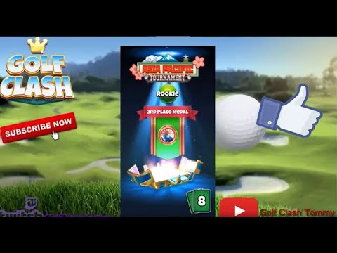 Golf Clash, A collection of prizechests from the Asia Pacific Tournament