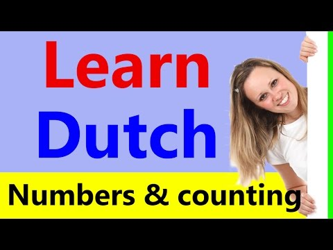 Learn Dutch for beginners - Counting in Dutch from 0 to trillion - Numbers in Dutch language