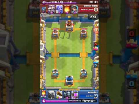 What a comeback !!! Clashroyale King's...