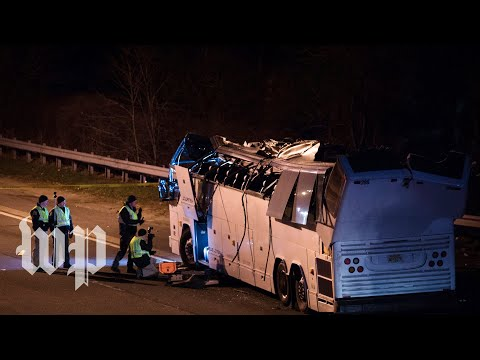 Dozens of students injured in Long Island bus crash