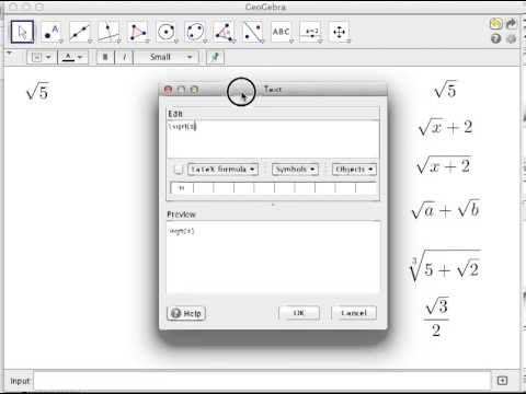 latex tutorial 3 how to code square root