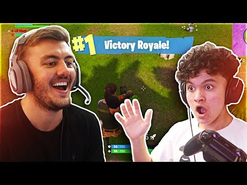 Playing With THE BEST 15 YEAR OLD Fortnite Battle Royale Player (FaZe Kay's Little Brother)